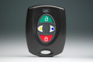 wireless keyfob for security systems