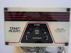 Temperature Alert gauge